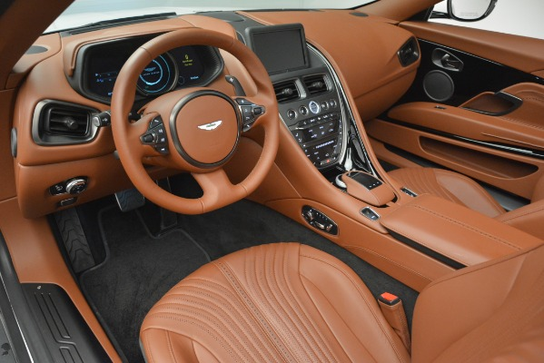 Used 2019 Aston Martin DB11 V8 Convertible for sale Sold at Rolls-Royce Motor Cars Greenwich in Greenwich CT 06830 19