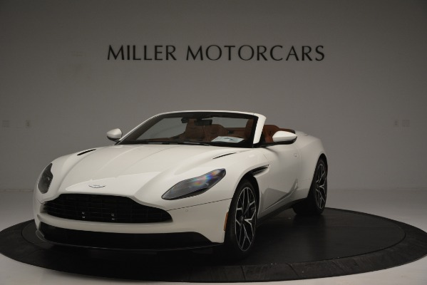 Used 2019 Aston Martin DB11 V8 Convertible for sale Sold at Rolls-Royce Motor Cars Greenwich in Greenwich CT 06830 2