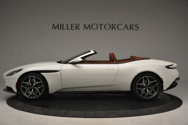 Used 2019 Aston Martin DB11 V8 Convertible for sale Sold at Rolls-Royce Motor Cars Greenwich in Greenwich CT 06830 3