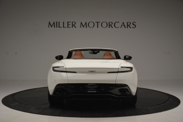 Used 2019 Aston Martin DB11 V8 Convertible for sale Sold at Rolls-Royce Motor Cars Greenwich in Greenwich CT 06830 6