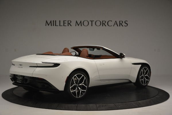 Used 2019 Aston Martin DB11 V8 Convertible for sale Sold at Rolls-Royce Motor Cars Greenwich in Greenwich CT 06830 8