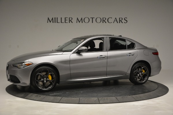New 2019 Alfa Romeo Giulia Sport Q4 for sale Sold at Rolls-Royce Motor Cars Greenwich in Greenwich CT 06830 2