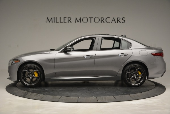 New 2019 Alfa Romeo Giulia Sport Q4 for sale Sold at Rolls-Royce Motor Cars Greenwich in Greenwich CT 06830 3