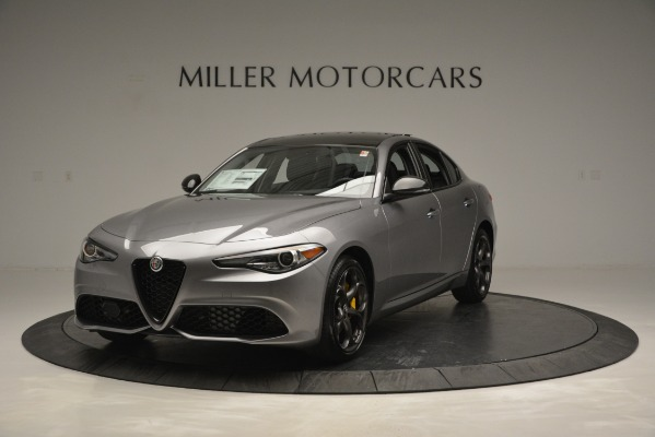New 2019 Alfa Romeo Giulia Sport Q4 for sale Sold at Rolls-Royce Motor Cars Greenwich in Greenwich CT 06830 1