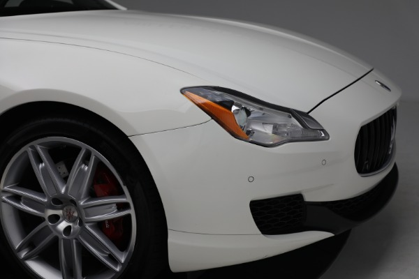 Used 2015 Maserati Quattroporte S Q4 for sale $42,900 at Rolls-Royce Motor Cars Greenwich in Greenwich CT 06830 28