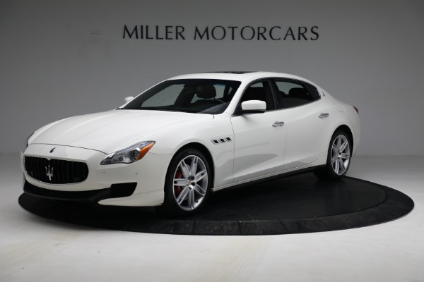 Used 2015 Maserati Quattroporte S Q4 for sale Sold at Rolls-Royce Motor Cars Greenwich in Greenwich CT 06830 1