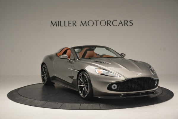 Used 2018 Aston Martin Zagato Speedster Convertible for sale Sold at Rolls-Royce Motor Cars Greenwich in Greenwich CT 06830 11