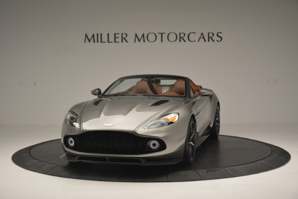 Used 2018 Aston Martin Zagato Speedster Convertible for sale Sold at Rolls-Royce Motor Cars Greenwich in Greenwich CT 06830 2