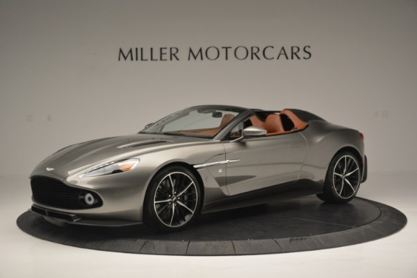 Used 2018 Aston Martin Zagato Speedster Convertible for sale Sold at Rolls-Royce Motor Cars Greenwich in Greenwich CT 06830 1