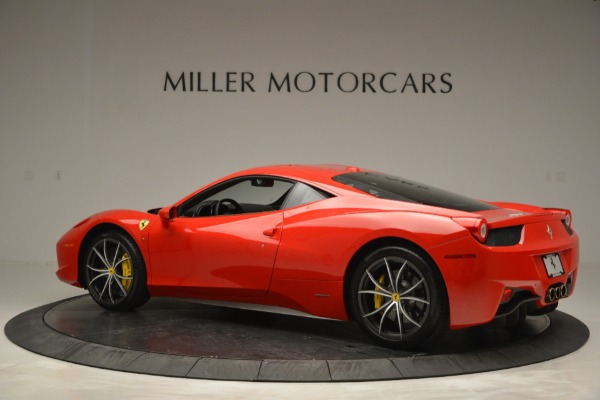 Used 2014 Ferrari 458 Italia for sale Sold at Rolls-Royce Motor Cars Greenwich in Greenwich CT 06830 4