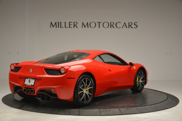 Used 2014 Ferrari 458 Italia for sale Sold at Rolls-Royce Motor Cars Greenwich in Greenwich CT 06830 7