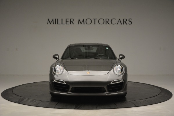 Used 2015 Porsche 911 Turbo S for sale Sold at Rolls-Royce Motor Cars Greenwich in Greenwich CT 06830 12