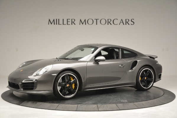 Used 2015 Porsche 911 Turbo S for sale Sold at Rolls-Royce Motor Cars Greenwich in Greenwich CT 06830 2
