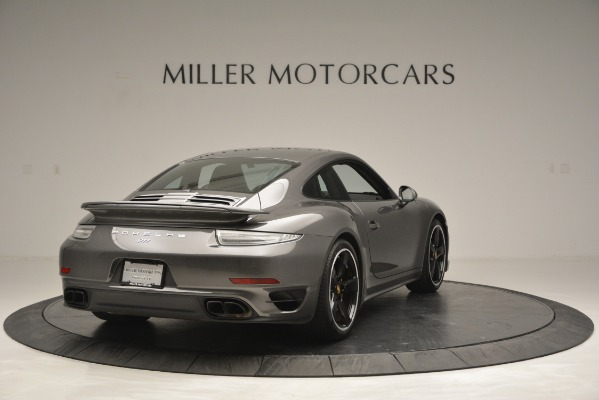 Used 2015 Porsche 911 Turbo S for sale Sold at Rolls-Royce Motor Cars Greenwich in Greenwich CT 06830 7