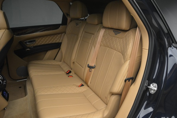 Used 2017 Bentley Bentayga W12 for sale Sold at Rolls-Royce Motor Cars Greenwich in Greenwich CT 06830 24