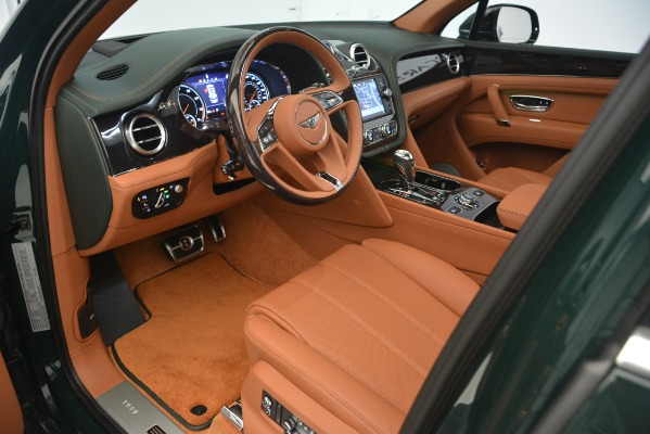 New 2019 Bentley Bentayga V8 for sale Sold at Rolls-Royce Motor Cars Greenwich in Greenwich CT 06830 15