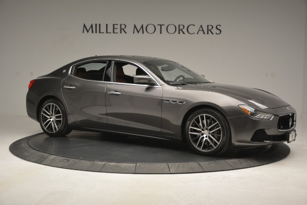 Used 2015 Maserati Ghibli S Q4 for sale Sold at Rolls-Royce Motor Cars Greenwich in Greenwich CT 06830 11