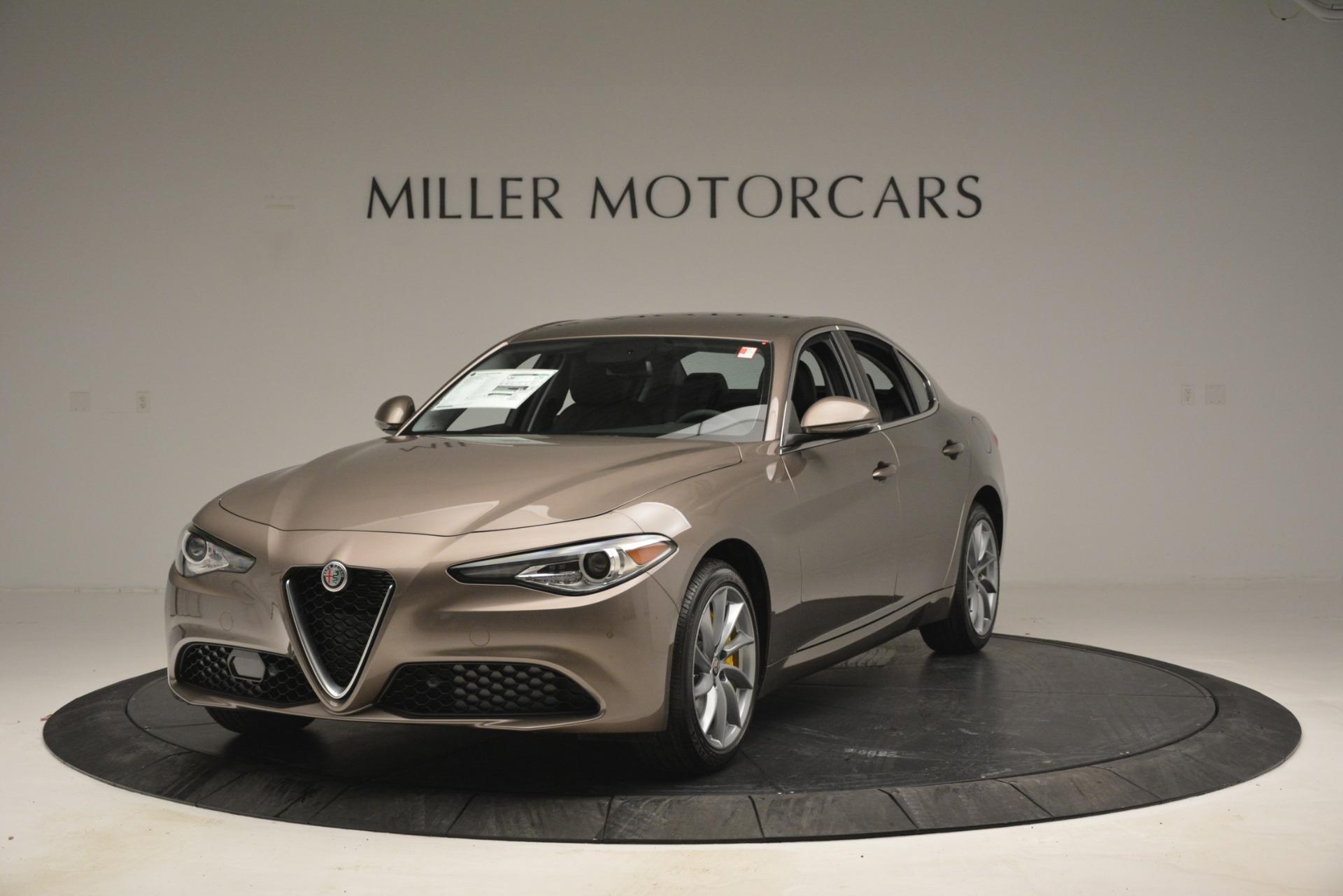 New 2019 Alfa Romeo Giulia Q4 for sale $45,240 at Rolls-Royce Motor Cars Greenwich in Greenwich CT 06830 1
