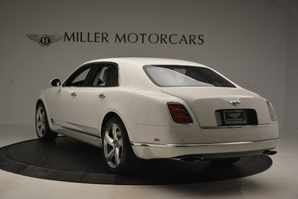 Used 2016 Bentley Mulsanne Speed for sale Sold at Rolls-Royce Motor Cars Greenwich in Greenwich CT 06830 5