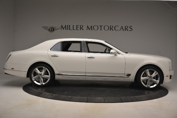 Used 2016 Bentley Mulsanne Speed for sale Sold at Rolls-Royce Motor Cars Greenwich in Greenwich CT 06830 9