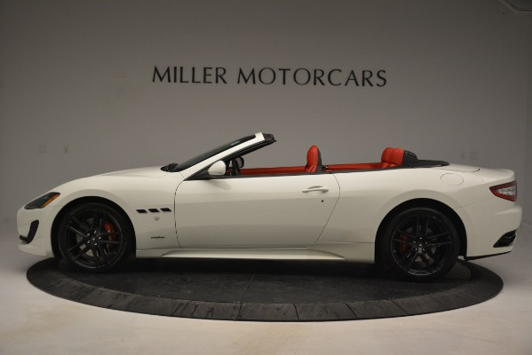 Used 2017 Maserati GranTurismo Sport for sale Sold at Rolls-Royce Motor Cars Greenwich in Greenwich CT 06830 3