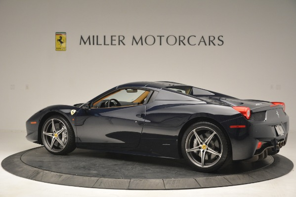 Used 2014 Ferrari 458 Spider for sale Sold at Rolls-Royce Motor Cars Greenwich in Greenwich CT 06830 16