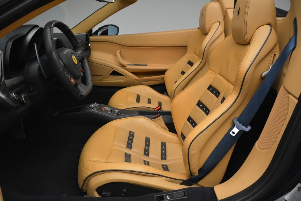 Used 2014 Ferrari 458 Spider for sale Sold at Rolls-Royce Motor Cars Greenwich in Greenwich CT 06830 26