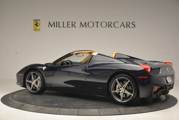 Used 2014 Ferrari 458 Spider for sale Sold at Rolls-Royce Motor Cars Greenwich in Greenwich CT 06830 4