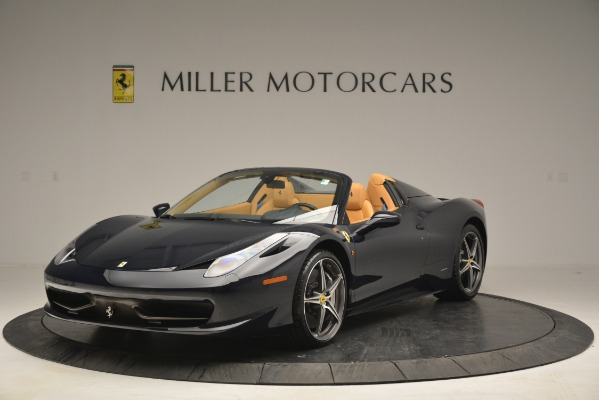 Used 2014 Ferrari 458 Spider for sale Sold at Rolls-Royce Motor Cars Greenwich in Greenwich CT 06830 1