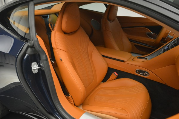 Used 2018 Aston Martin DB11 V12 Coupe for sale Sold at Rolls-Royce Motor Cars Greenwich in Greenwich CT 06830 22
