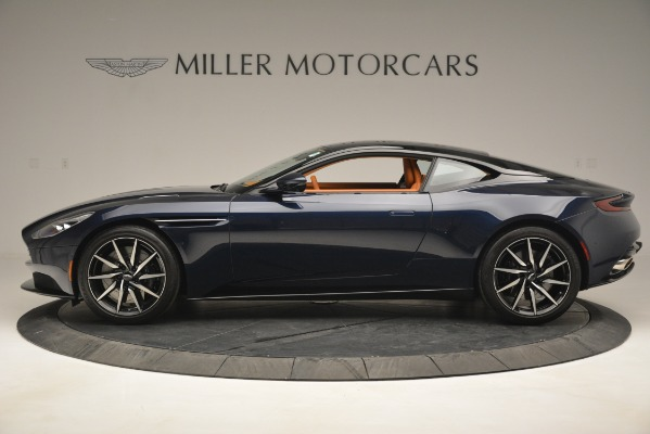 Used 2018 Aston Martin DB11 V12 Coupe for sale Sold at Rolls-Royce Motor Cars Greenwich in Greenwich CT 06830 3