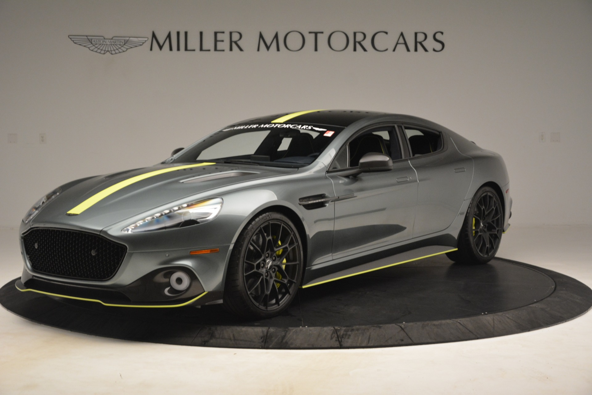 New 2019 Aston Martin Rapide AMR Sedan for sale $282,980 at Rolls-Royce Motor Cars Greenwich in Greenwich CT 06830 1