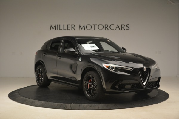 New 2019 Alfa Romeo Stelvio Quadrifoglio for sale $86,440 at Rolls-Royce Motor Cars Greenwich in Greenwich CT 06830 11