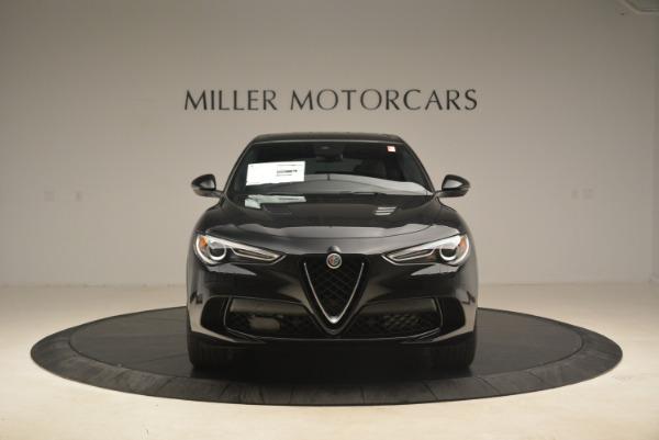 New 2019 Alfa Romeo Stelvio Quadrifoglio for sale $86,440 at Rolls-Royce Motor Cars Greenwich in Greenwich CT 06830 12