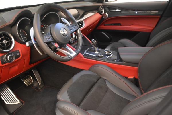 New 2019 Alfa Romeo Stelvio Quadrifoglio for sale $86,440 at Rolls-Royce Motor Cars Greenwich in Greenwich CT 06830 13
