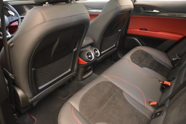 New 2019 Alfa Romeo Stelvio Quadrifoglio for sale $86,440 at Rolls-Royce Motor Cars Greenwich in Greenwich CT 06830 16