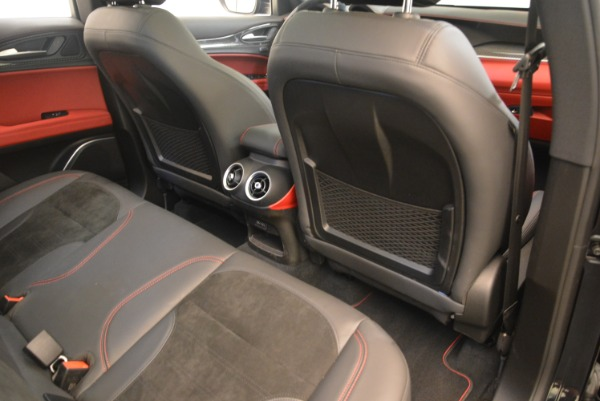 New 2019 Alfa Romeo Stelvio Quadrifoglio for sale $86,440 at Rolls-Royce Motor Cars Greenwich in Greenwich CT 06830 22