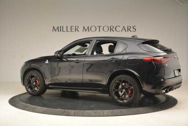 New 2019 Alfa Romeo Stelvio Quadrifoglio for sale $86,440 at Rolls-Royce Motor Cars Greenwich in Greenwich CT 06830 4