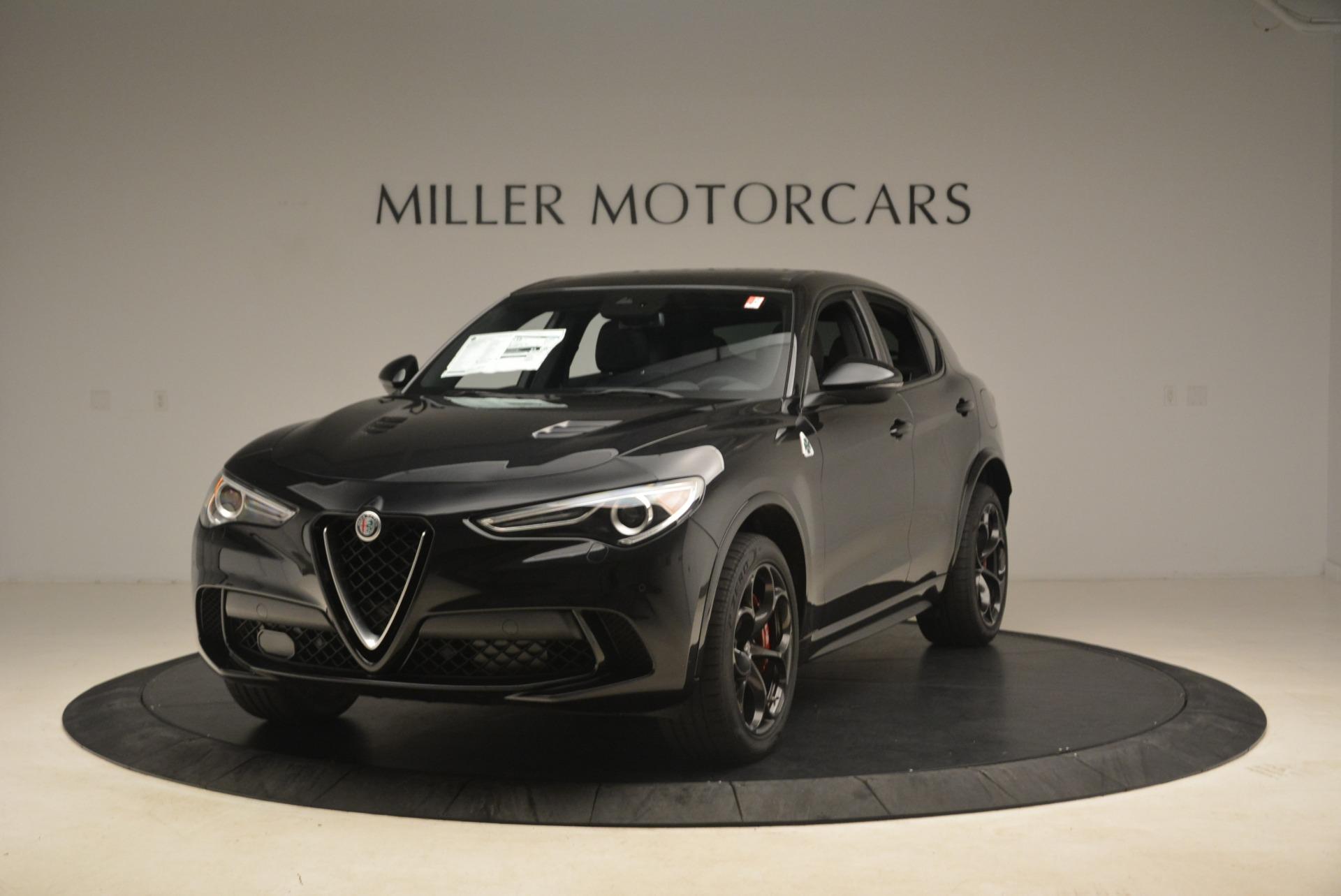New 2019 Alfa Romeo Stelvio Quadrifoglio for sale $86,440 at Rolls-Royce Motor Cars Greenwich in Greenwich CT 06830 1