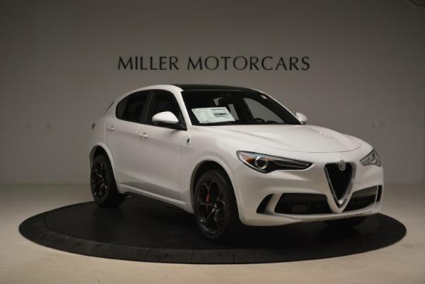 Used 2019 Alfa Romeo Stelvio Quadrifoglio for sale Sold at Rolls-Royce Motor Cars Greenwich in Greenwich CT 06830 12