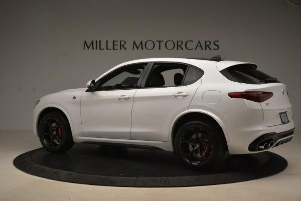 Used 2019 Alfa Romeo Stelvio Quadrifoglio for sale Sold at Rolls-Royce Motor Cars Greenwich in Greenwich CT 06830 4