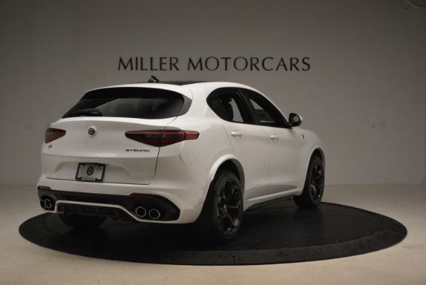 Used 2019 Alfa Romeo Stelvio Quadrifoglio for sale Sold at Rolls-Royce Motor Cars Greenwich in Greenwich CT 06830 7