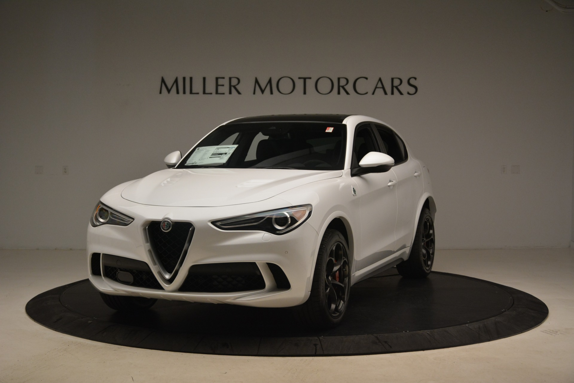 Used 2019 Alfa Romeo Stelvio Quadrifoglio for sale Sold at Rolls-Royce Motor Cars Greenwich in Greenwich CT 06830 1