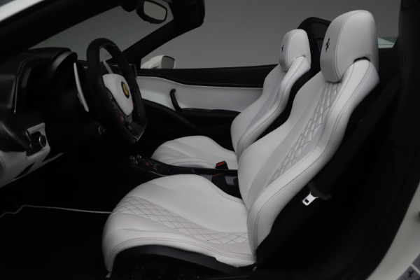 Used 2015 Ferrari 458 Spider for sale Sold at Rolls-Royce Motor Cars Greenwich in Greenwich CT 06830 18