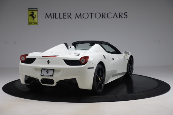 Used 2015 Ferrari 458 Spider for sale Sold at Rolls-Royce Motor Cars Greenwich in Greenwich CT 06830 7