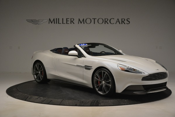 Used 2015 Aston Martin Vanquish Convertible for sale Sold at Rolls-Royce Motor Cars Greenwich in Greenwich CT 06830 10