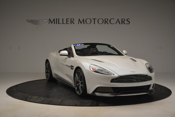 Used 2015 Aston Martin Vanquish Convertible for sale Sold at Rolls-Royce Motor Cars Greenwich in Greenwich CT 06830 11