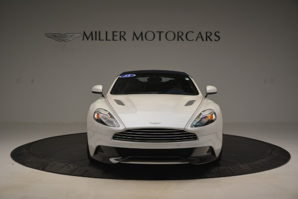 Used 2015 Aston Martin Vanquish Convertible for sale Sold at Rolls-Royce Motor Cars Greenwich in Greenwich CT 06830 13