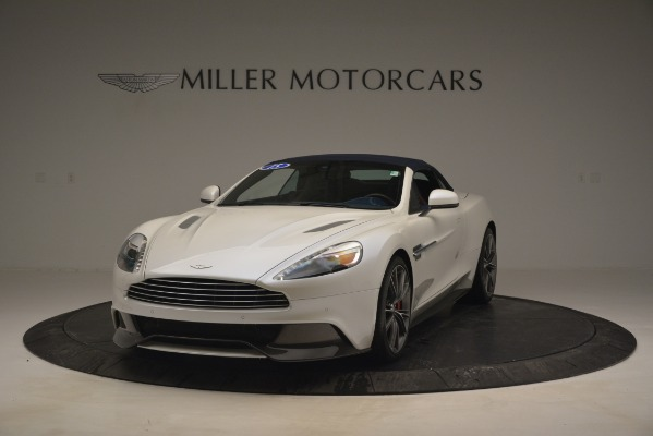 Used 2015 Aston Martin Vanquish Convertible for sale Sold at Rolls-Royce Motor Cars Greenwich in Greenwich CT 06830 14