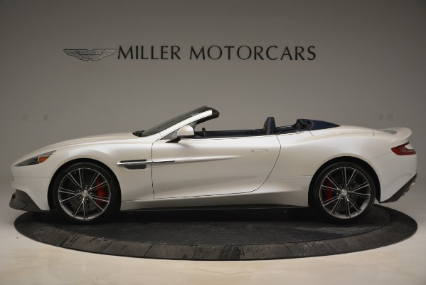 Used 2015 Aston Martin Vanquish Convertible for sale Sold at Rolls-Royce Motor Cars Greenwich in Greenwich CT 06830 3